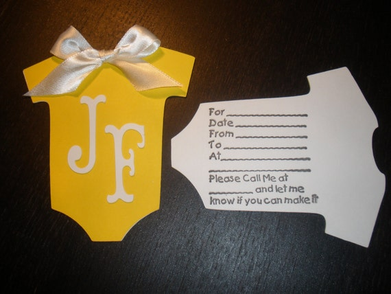 Set of 25 Baby Shower Invitations, Invitation, Paper Goods, Everything Else, Children, Babies, Baby Showers, Baby Shower
