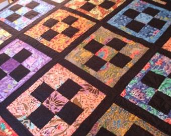 Batik Nine-Patch