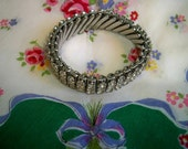 Vintage 1950s Rhinestone Hollywood  Bracelet Marilyn Monroe