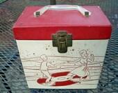 Vintage 1950s 45 Record Case SALE