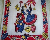 Vintage Sassy Senorita Southwestern Mexican Towel