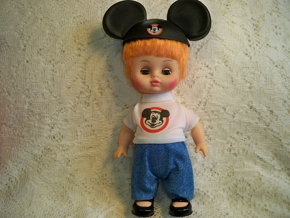 Vintage Walt Disney Mickey Mouse Club Mouseketeer Doll Boy  RESERVED