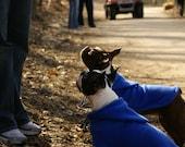 RESERVED Custom Fleece Dog Jacket With Hood