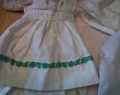 Doll Clothes Dress Petticoat Nightie Five Pieces