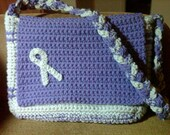 Brain Cancer Awareness Messenger Bag
