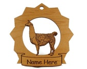 Llama Personalized Ornament