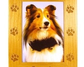 Dog Paws Picture Frame - gclasergraphics