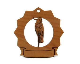 Cockatoo Bird Personalized Ornament