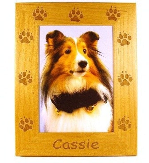 Dog Paws Picture Frame