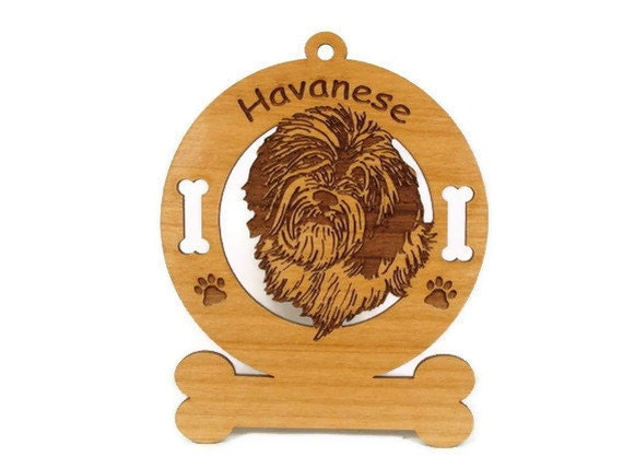 3347 Havanese Personalized Dog Ornament