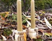bayberry beeswax taper candles