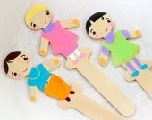 Cutie Pie Paddle Pop Stick Dolls
