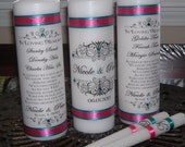 Unity Candle and Memorial Candles, Memorial Candles, Unity candle, Wedding Candle