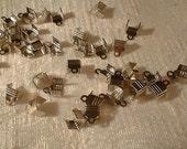 Terminators, Silver, 9X7X5.5mm, 25 pcs,  no. 85920sc