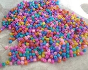 Tutti Frutti Multi Mix, Seed Beads, 12-0, 3 cut, 25 grams