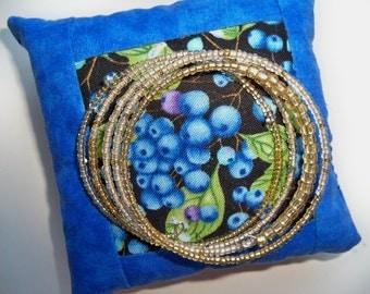 MEMORY WIRE Bracelet/GOLDEN Beaded Bracelet/Seed Bead Bracelet/Bangle Bracelet