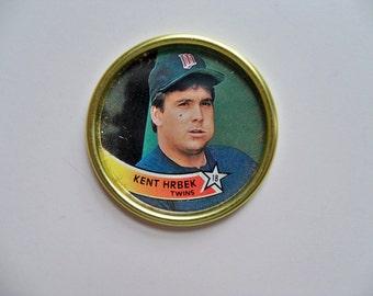 KENT HRBEK TOPPS Baseball Coin/Baseball Memorabilia/Topps Baseball Coins