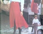 Skirt Pattern Very Easy VOGUE SPORT 8204  Midi Short Flared or Slim
