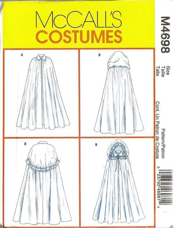 how to make a hooded cape without a pattern