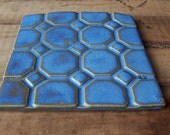 Geometric Tile-Blue- Made to Order - DevonWhitneyTile