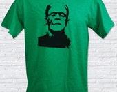 Classic Monster Frankenstein Mens T-Shirt - Sizes S, M, L, XL