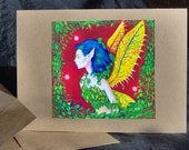 PIF - Fairy Of The Forest Card - PIF means Pay It Forward