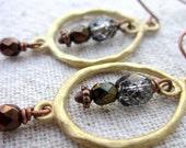 Earrings: Beaded Dangle, Escape