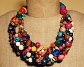 Harlequin 2 necklace - reserved listing for SUSAN