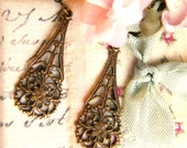 Mrs Wilder would approve---Vintage Victorian Style Earrings