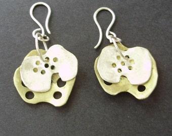 lung earrings