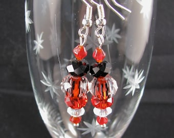 Bold reds and blacks are sure to captivate!