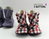 EY,93,Baby 3 Button Boots PDF Pattern