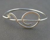Treble Clef Bracelet / Sterling