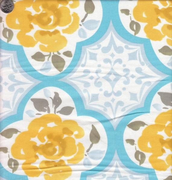 Dena designs tea garden ming in blue for Dena designs tea garden fabric
