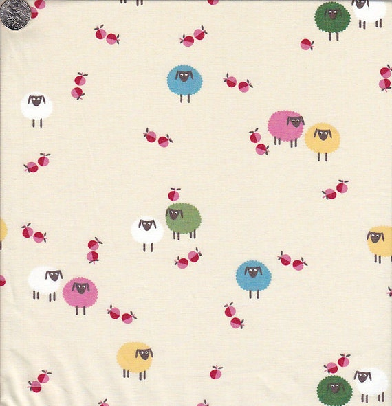 End of Bolt - Last 32 Inches - Home To Roost Sheep in Cream