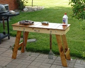 Portable Folding Grill Table