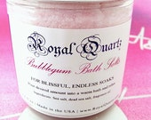 Bubblegum Bath Salts - Uplifting jovial scent, a great soak - Royal Quartz