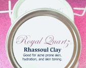 Rhassoul clay - Great for psoriasis, eczema, acne, hydration, and toning
