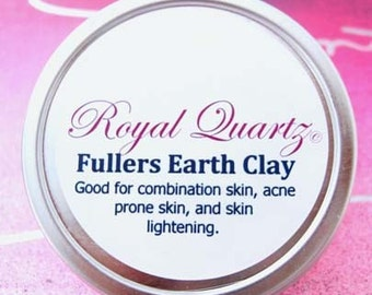 Fuller's Earth Clay - Great for acne prone skin, combination skin, and skin lightening