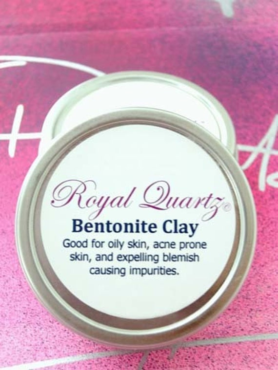 Bentonite Clay - great for acne, sun damage, wrinkles, oily skin, and blemish causing toxins and  impurities