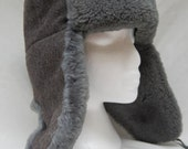 Vintage USSR Ushanka Winter Hat Soviet Era 1978 Ear Flaps