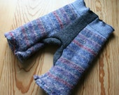 fair isle felted wool pants - sale 10