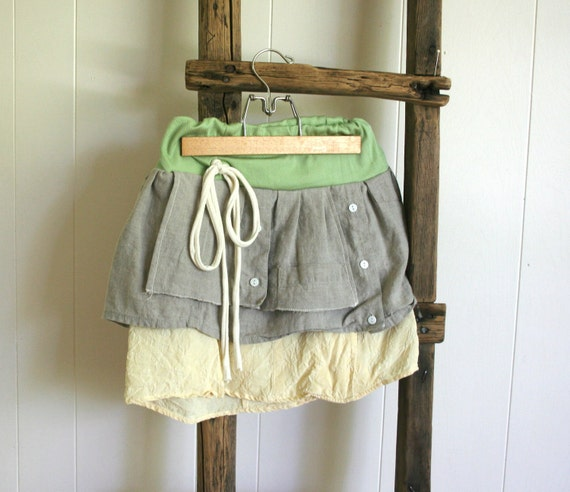 father to daughter, linen and silk, shirt skirt, size 4 to 8 years