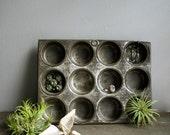 vintage mini muffin organizer tray.