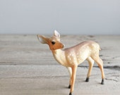 vintage celluloid deer fawn figure