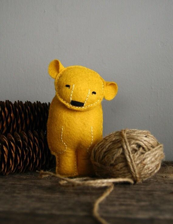 martin. a golden sun bear.