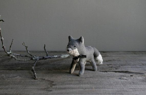 dapper grey fox