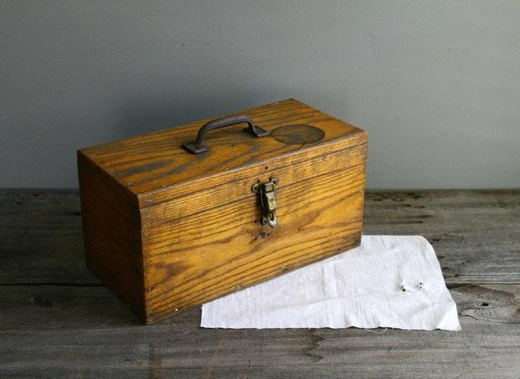 handmade wood tool box