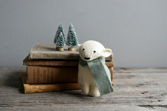 knut: winter pocket bear