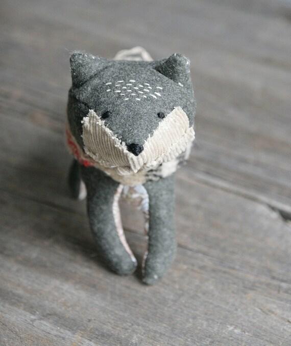 country fox // soft sculpture